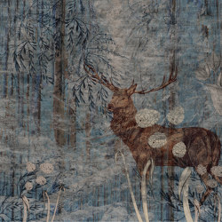 Learning to admire | The Deer's song | Wall coverings / wallpapers | Walls beyond