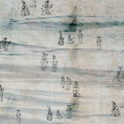 Prelude to a tale | Eastern spirit_darker | Wall coverings / wallpapers | Walls beyond