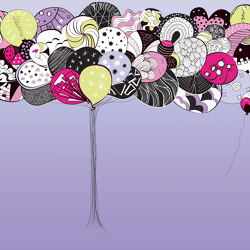 Prelude to a tale | Happy_lilac | Wall coverings / wallpapers | Walls beyond