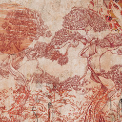 Prelude to a tale | Kenrokuen | Wall coverings / wallpapers | Walls beyond
