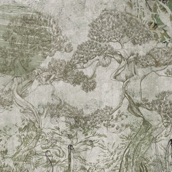 Prelude to a tale | Kenrokuen_moss | Wall coverings / wallpapers | Walls beyond