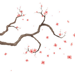 Scent of silence | Hanami | Wall coverings / wallpapers | Walls beyond