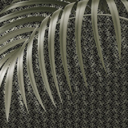 Scent of silence | Hasienda_green | Wall coverings / wallpapers | Walls beyond
