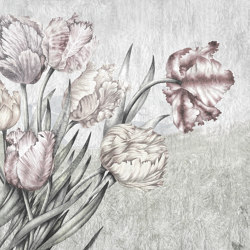 Scent of silence | Lente_desaturated | Wall coverings / wallpapers | Walls beyond