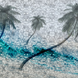 Spectre | Equator_azure | Wall coverings / wallpapers | Walls beyond