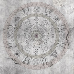 Tender is the urban | Mandala | Wall coverings / wallpapers | Walls beyond