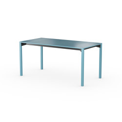 iLAIK extendable table 160 - bluegray/angular/bluegray | Tavoli pranzo | LAIK