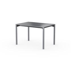 iLAIK extendable table 120 - gray/angular/gray | Mesas comedor | LAIK