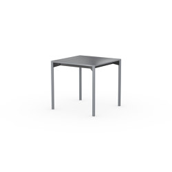 iLAIK extendable table 80 - gray/rounded/gray | Dining tables | LAIK