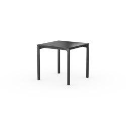 iLAIK extendable table 80 - black/angular/black | Dining tables | LAIK