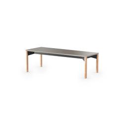 iLAIK bench 120 - graybeige/rounded/oak | Benches | LAIK