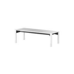 iLAIK bench 120 - white/angular/white | Panche | LAIK