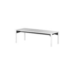 iLAIK bench 120 - white/rounded/white | Bancos | LAIK