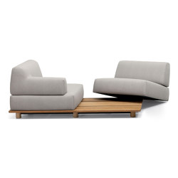 Palco sofa | Sofas | Kristalia