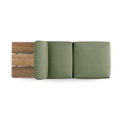 Palco sofa | Chaise longues | Kristalia