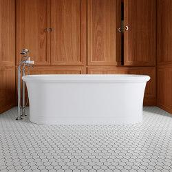 Celine White Bathtub   Bathtubs   Devon&Devon