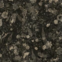 Wallpaper Gold | Botanica Black&White Gold Leaf | Wall coverings / wallpapers | Devon&Devon