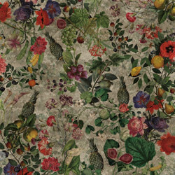 Wallpaper Gold | Botanica Grey Gold Leaf | Wall coverings / wallpapers | Devon&Devon