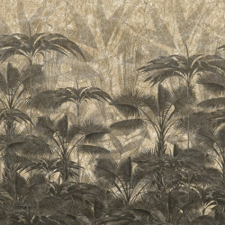 Wallpaper Gold | Casablanca Black&White Antique Gold | Wall coverings / wallpapers | Devon&Devon