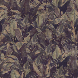 Wallpaper Gold | Costarica Purple Antique Gold | Wall coverings / wallpapers | Devon&Devon