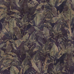 Wallpaper Gold | Costarica Purple Gold Leaf | Wall coverings / wallpapers | Devon&Devon