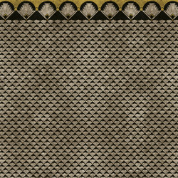 Wallpaper Gold | Empire Black&White Gold Leaf | Wall coverings / wallpapers | Devon&Devon