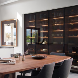 FINE Glass door unit | Kitchen cabinets | Santos