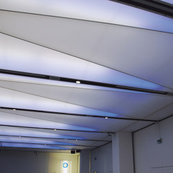 Sound-Absorbing Light Ceilings | Illuminated ceiling systems | Koch Membranen