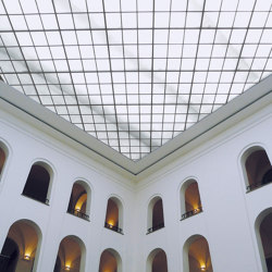 Grid Ceilings | Illuminated ceiling systems | Koch Membranen