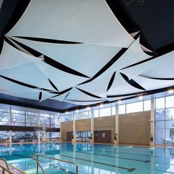 Swimmingpool Ceilings | Acoustic ceiling systems | Koch Membranen