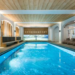 Swimmingpool Ceilings | Tension membrane systems | Koch Membranen