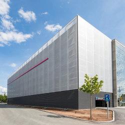 Parking Garage Facades | Systèmes de façade | Koch Membranen