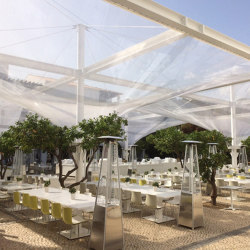 Funnel Umbrellas | Textile buildings | Koch Membranen