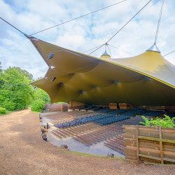 Grandstand roofing | Textile buildings | Koch Membranen
