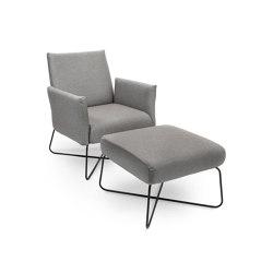 Kalos Lounge Seater | Armchairs | Fischer Möbel