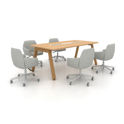 Intuity Park Bench | Contract tables | Haworth