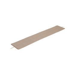 "Linear Steel Bench | Seat Pad | Seat Pad | 170 cm / 5'6"" | Seat cushions | Muuto"