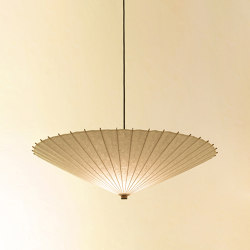 Hiyoshiya Large umbrella uplight | Suspended lights | Hiyoshiya