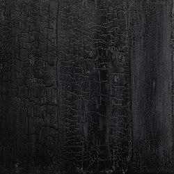 Makino urushi crackeled black wood | Surface finishings | Hiyoshiya
