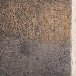 Makino urushi crackeled wood with gradation effect | Surface finishings | Hiyoshiya