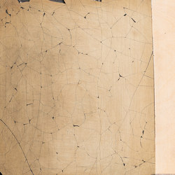 Makino urushi cracks effect | Surface finishings | Hiyoshiya