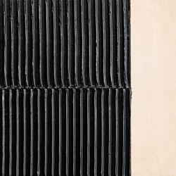 Makino urushi textured vertical stripes | Surface finishings | Hiyoshiya