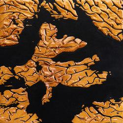 Makino urushi relief effect | Surface finishings | Hiyoshiya
