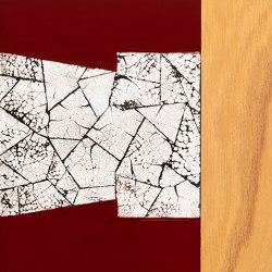 Makino urushi eggshell large cracks | Surface finishings | Hiyoshiya