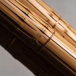 Miki Wari taimatsu bamboo panel   Bamboo   Hiyoshiya