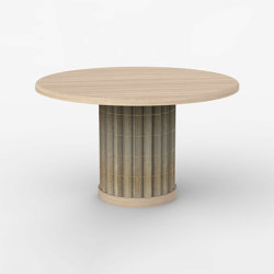 Miki Taimatsu bamboo table | Dining tables | Hiyoshiya