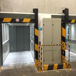 Elevators | Atlas Gigas for Industrial Buildings | Services elevators | KLEEMANN Elevator Manufacturer