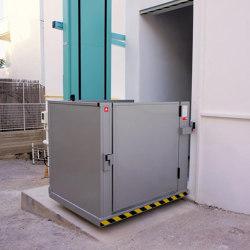 Accessibility | freeSTAIR Hydraulisches Aufzugssystem (Vertiplat) | Passenger elevators | KLEEMANN