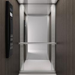 Cabins | Future T110 | Passenger elevators | KLEEMANN Elevator Manufacturer