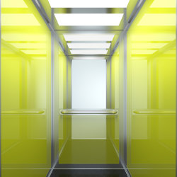 Cabins | Modern L510 | Passenger elevators | KLEEMANN Elevator Manufacturer
